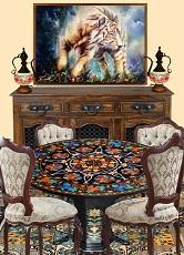 Pietra Dura Marble Tables