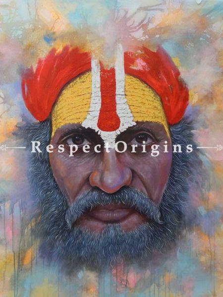 Buy indian Saints - Oil Color On Canvas - 50 X 53 At RespectOrigins.com