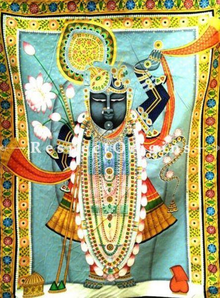 Buy Traditional Pichwai Painting of Raj Bhog 29 x 40 inches RespectOrigins