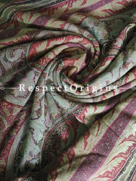 Buy Antique Kashmiri Pashmina Jamavaar Ladies Shawl At RespectOrigins.com