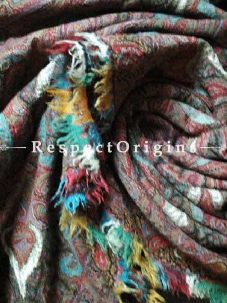Buy Heirloom Kashmiri Pashmina Jamavaar; A La Parisian Ladies Shawl At RespectOrigins.com