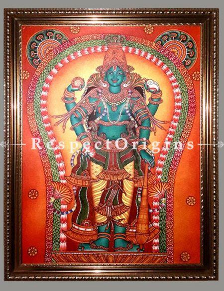 Buy Guruvayurappan-Kerala Wall Mural Art- 24X36 inches;RespectOrigins