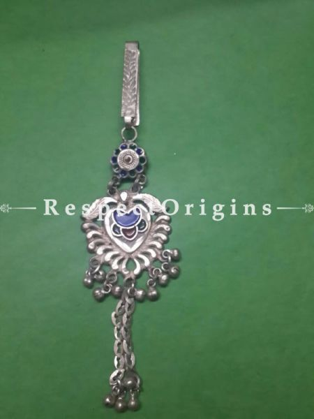 Stunning  Woman's Key Holder; Antique Silver, RespectOrigins.com