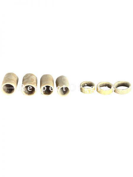 7 Piece Finger Caps, Sandal; Indian Folk Instrument; RespectOrigins.com