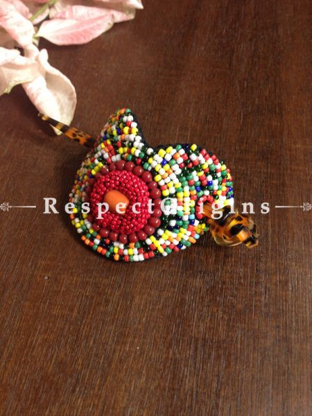 Buy Handmade Multicolor Coral Beads Ladakhi Hair Clips At RespectOrigins.com