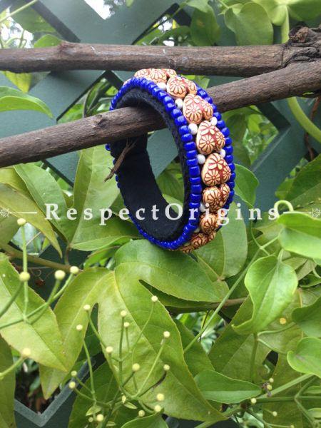 Buy Blue Beads; Handemade Ladhaki Beaded Bracelet for Women and Girls At RespectOrigins.com