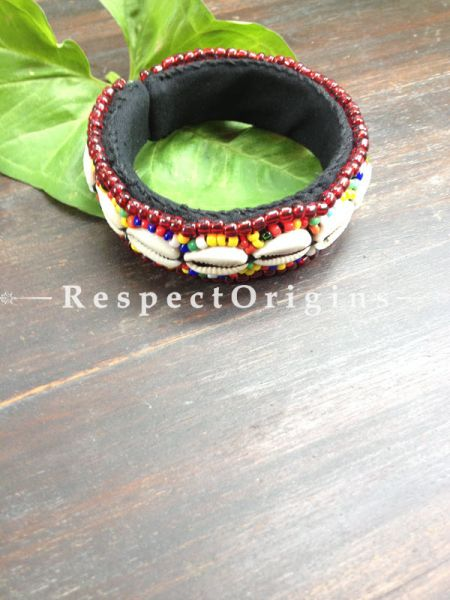 Buy Multicolor Beads; Handemade Ladhaki Beaded Bracelet for Women and Girls At RespectOrigins.com
