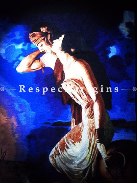 Buy Exquisite thread painting captures the masculine and the feminine reality of humans. Size 24x18 in. At RespectOriigns.com