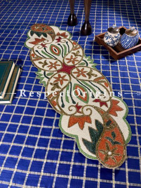 Sienna Elegant Beadwork Table Dresser Runner Mat Gift; RespectOrigins.com
