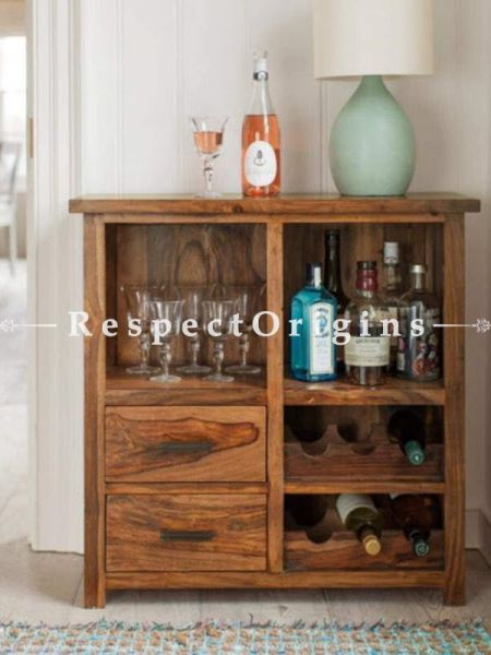 Buy AlexCountry Bar Cabinet in Solid Wood At RespectOrigins.com