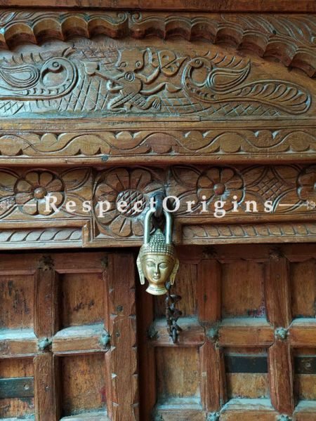 Buy Buddha Handcrafted Vintage Look Brass Lock & Key Set; RespectOrigins