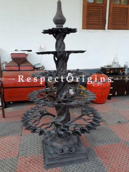 Buy Antique Bronze Traditional Diya Oil Lamp At RespectOrigins.com