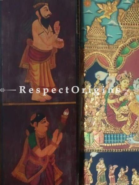 Buy Antique Original Tanjore Bal Gopal Krishna Temple Painting At RespectOrigins.com