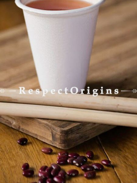 Buy Pack of 25 Arecana Eco Friendly Glass, Disposable, 8.66 inches; RespectOrigins