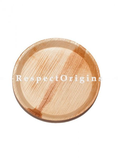 Buy Pack of 25 Natural Fibre Arecana Eco Friendly Dinner Plates