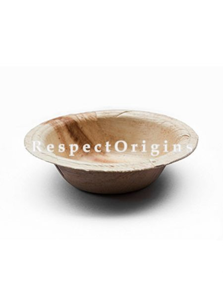 Buy Pack of 25 Arecana Eco Friendly Round Bowl, Disposable, 8 inches; RespectOrigins