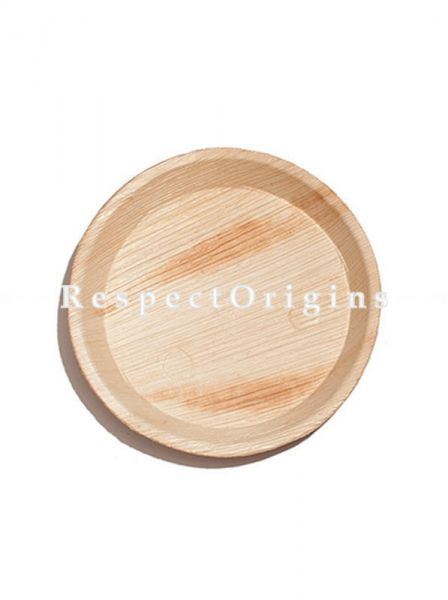 Buy Pack of 25 Arecana Eco Friendly Round Plates