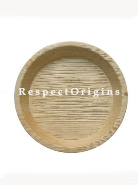 Buy Pack of 25 Arecana Eco Friendly Round Dinner Plates