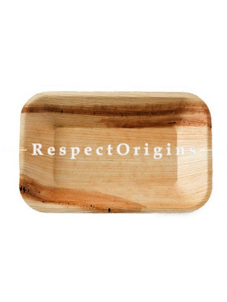 Buy Pack of 25 Arecana Eco Friendly Snacks Plates, 7 inches; RespectOrigins