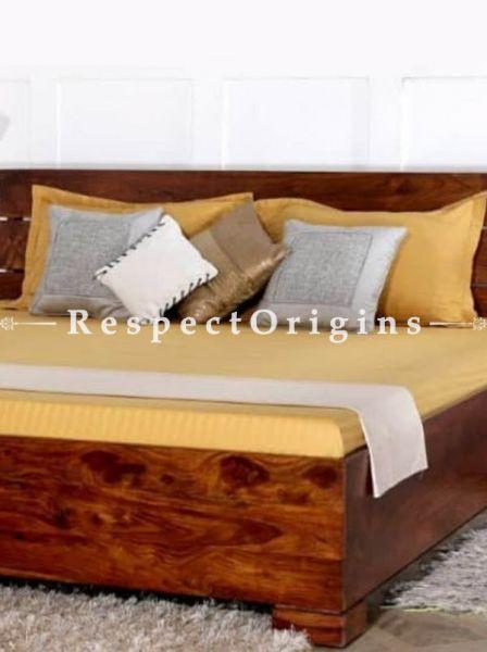 Buy Arianna Solid Wood Storage Queen Bed. At RespectOrigins.com