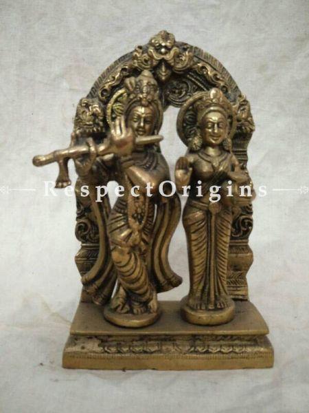 Buy Radha Krishna Statue; Brass at RespectOrigins.com