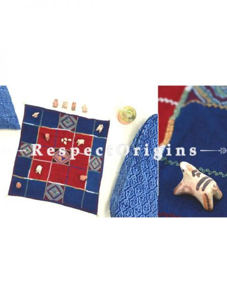 Buy Ashta Chamma Handmade With Jat Emroidery On Naturally Dyed Cotton at RespectOrigins.com