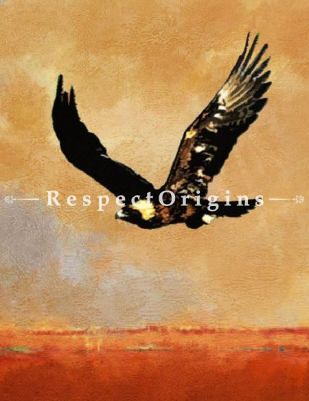 Original art|Art Collector|Flying Eagle paintings|RespectOrigins