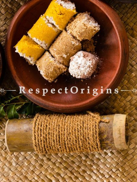 Handcrafted Toxic-free and Hand-Seasoned Bamboo Puttu Maker or Bamboo Steamer; RespectOrigins.com