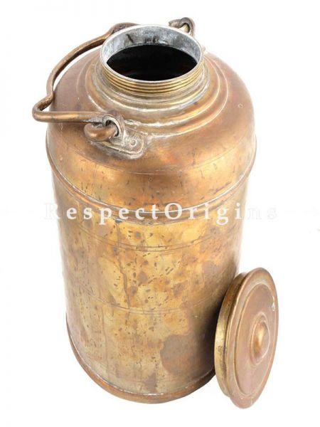 Buy Beautiful Handcrafted Brass Milk Pot At RespectOrigins.com