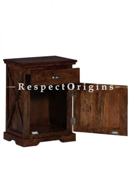 Buy Bed Side Table; Wood At RespectOrigins.com