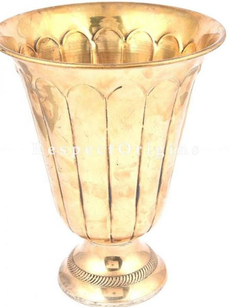 Buy Vintage Uncommon Shaped South Brass Pot At RespectOrigins.com