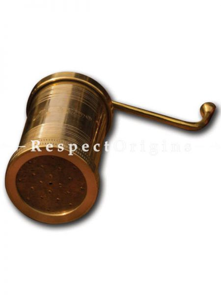 Buy Handmade Brass Idiyappam; String Hopper or Sancha; Seva Nazhi; Traditional Handcrafted Toxic-free Cookware; Hand Seasoned At RespectOrigins.com