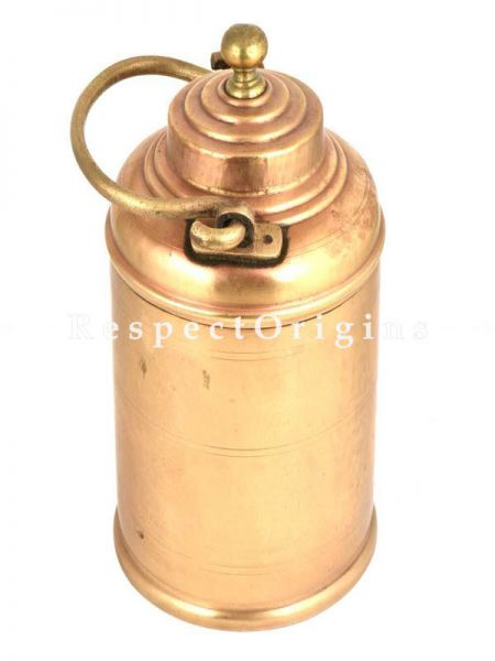 Buy Brass Milk Pot Rings Engraved On Lid And Knob At RespectOrigins.com