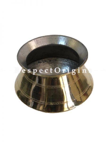 Brass Kalam with TIN Coat or Brass Pot or Pongal Kalam or Brass Sombu; RespectOrigins.com