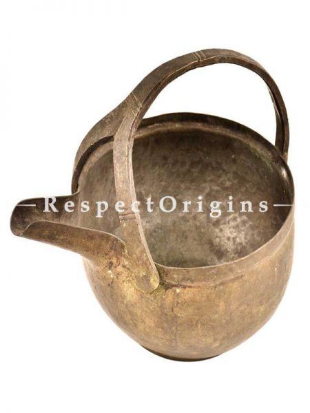 Buy Brass Serving Pot With a Handle At RespectOrigins.com