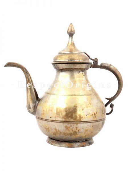 Buy Brass Teapot Vintage Pitcher At RespectOrigins.com