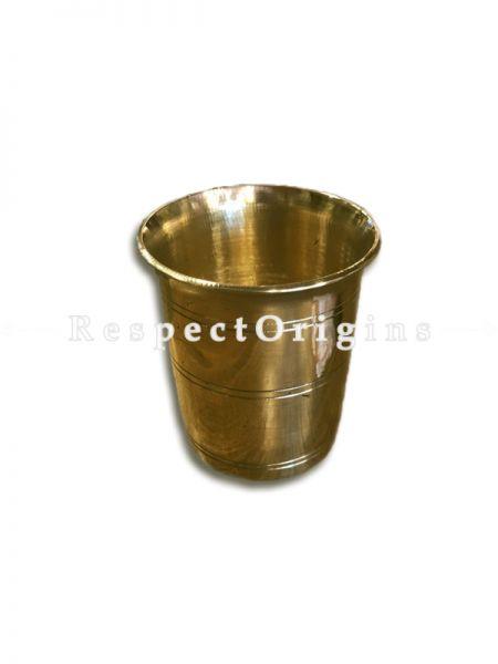 Handcrafted (Kansa) Bronze Glass Set Of 2-Pr-50222-70459