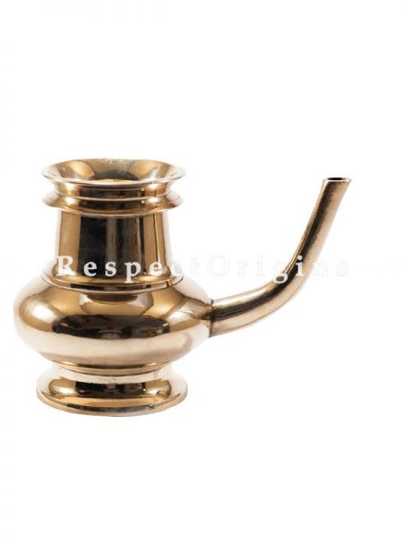 Handcrafted Bronze Kindi Vessel Kerala Traditional Water Dispenser-Pr-50222-70464
