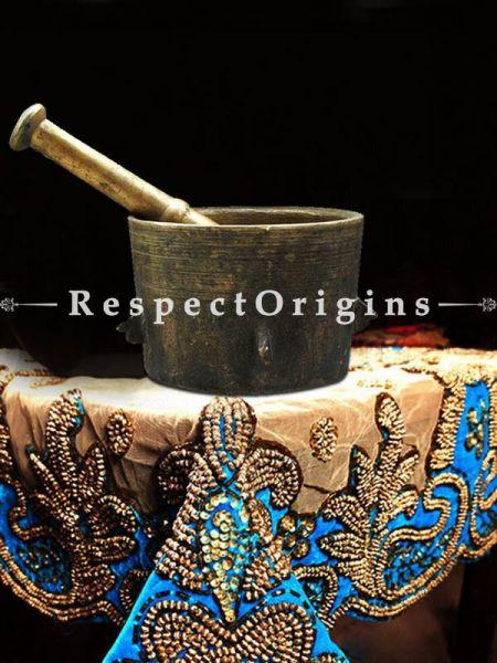 Buy Bronze Spice Grinder, Mortar And Pastle At RespectOrigins.com