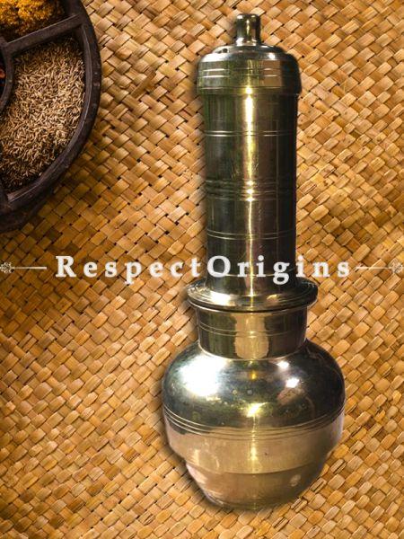 Handcrafted (Kansa) Bronze Puttu Kutti-Pr-50222-70455