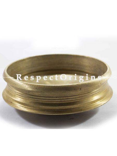 Handcrafted (Kansa) Bronze Urli;9.5 inches-Pr-50222-70454