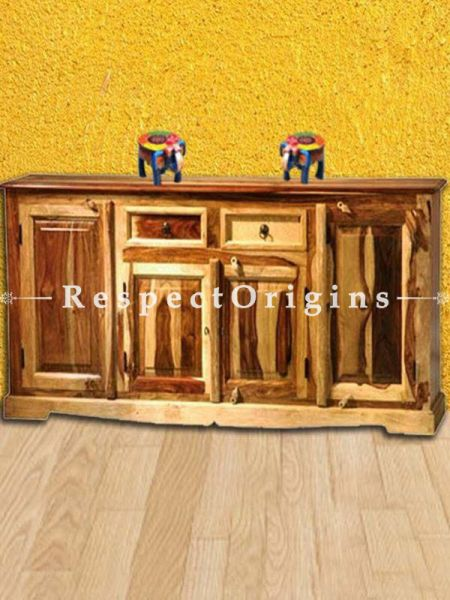 Buy Dune Retro Two tone Handcrafted Reclaimed Wood Cabinet At RespectOrigins.com
