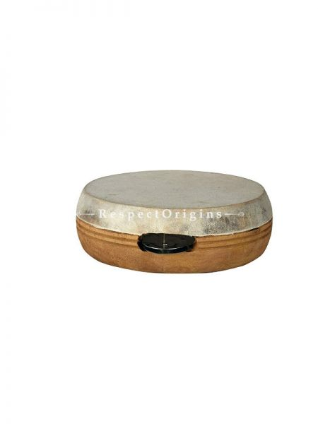 Kanjira Hand Percussion Indian Musical Instrument; RespectOrigins.com