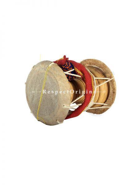 Udukkai; Jack Fruit Wood & Leather; Indian Folk Instrument; RespectOrigins.com