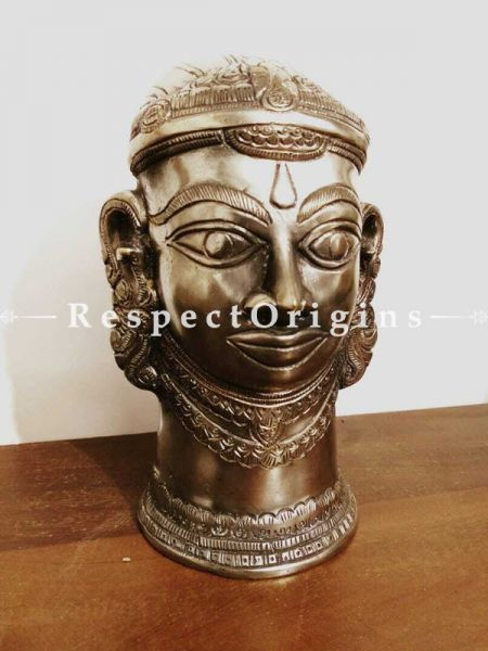 Buy Unique bust of Goddess Parvati in Silver and Bronze At RespectOrigins.com
