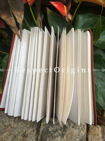 Buy Brown Rajasthani Leather Diary At RespectOrigins.com