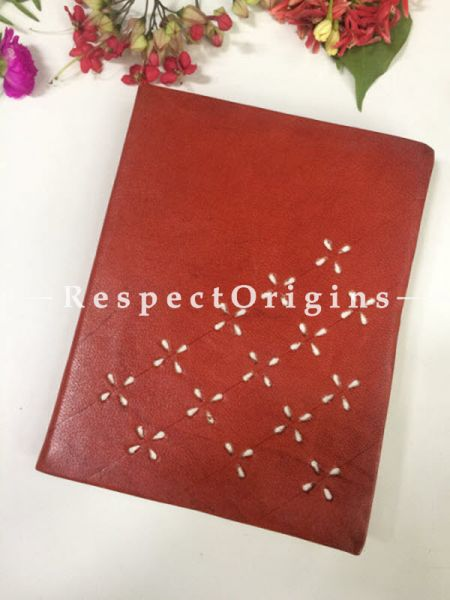 Buy Brown Rajasthani Leather Diary At RespectOrigins.com