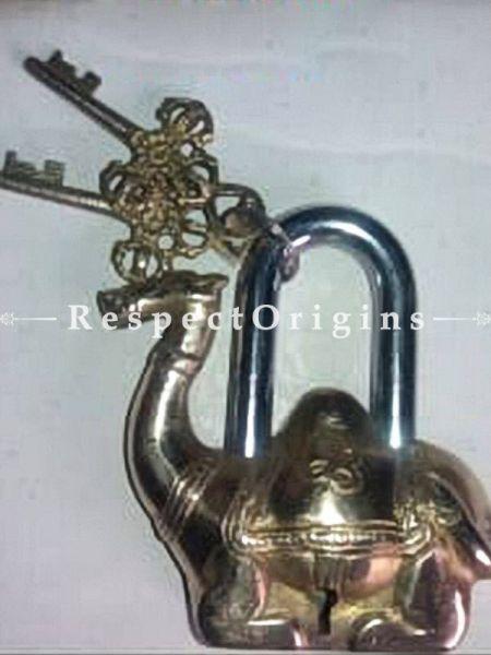 Buy Camel Vintage Design Working Functional Lock with Keys At RespectOrigins.com