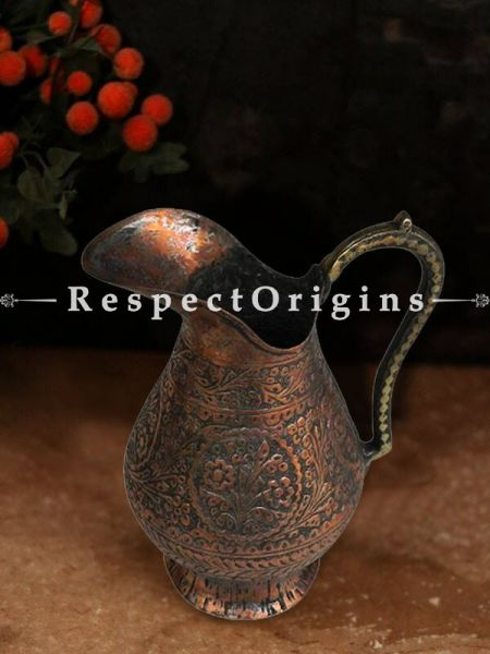 Buy Old Carved Islamic Copper Water Storage Jug At RespectOrigins.com