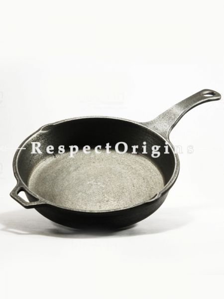 Toxic-Free & Hand-Seasoned Using Traditional Methods;Cast Iron Skillet (Frying Pan); 9 Inches-Pr-50222-70435